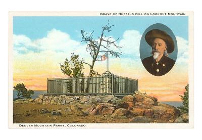 Grave of Buffalo Bill, Lookout Mountain, Colorado