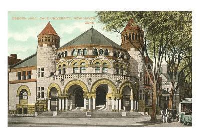 Osborn Hall, Yale, New Haven, Connecticut