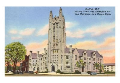 Sheffield Hall, Yale, New Haven, Connecticut