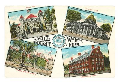 Views of Yale, New Haven, Connecticut