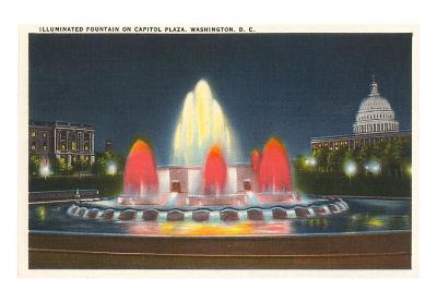 Illuminated Fountain, Washington D.C.