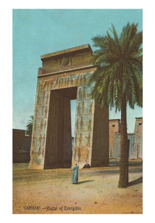 Karnak, Portal of Euergetes, Egypt