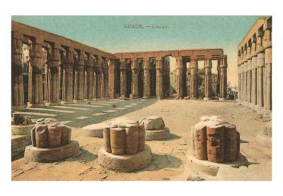 Court at Luxor, Egypt