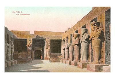 Ramsesseum, Karnak, Egypt