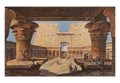 Temple at Luxor, Egypt