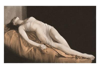 Supine Woman in Gauze