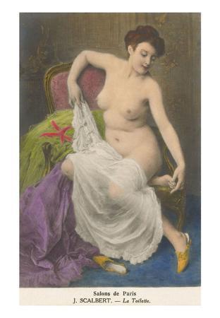 Salons de Paris, Woman Dressing