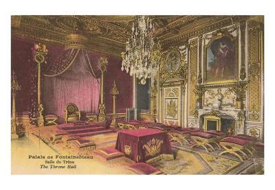 Fontainbleau Palace, France