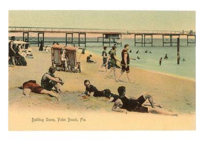 Bathing Scene, Palm Beach, Florida
