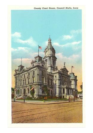 Courthouse, Council Bluffs, Iowa