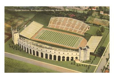Dyche Stadium, Northwestern University, Illinois