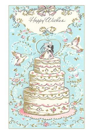 Happy Wishes, Wedding Cake