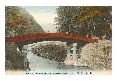 Mihashi Bridge, Nikko, Japan