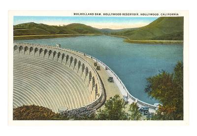 Mulholland Dam, Hollywood, Los Angeles, California