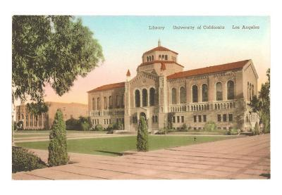 Powell Library at UCLA, Los Angeles, California