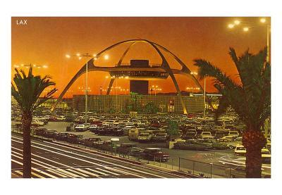 Theme Building, LAX, Los Angeles, California