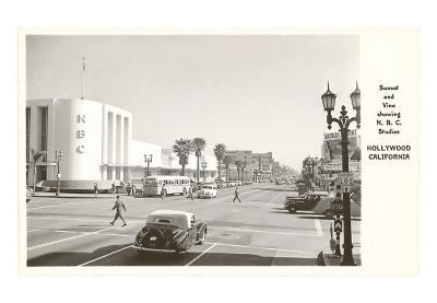 NBC Studios, Hollywood, Los Angeles, California