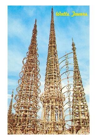 Watts Towers, Los Angeles, California