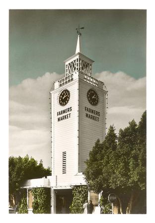 Farmers Market Clock Tower, Los Angeles, California