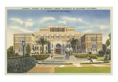 Library, USC, Los Angeles, California
