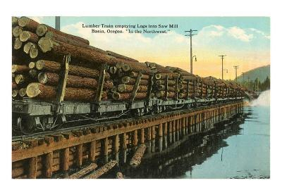 Northwest Lumber Train