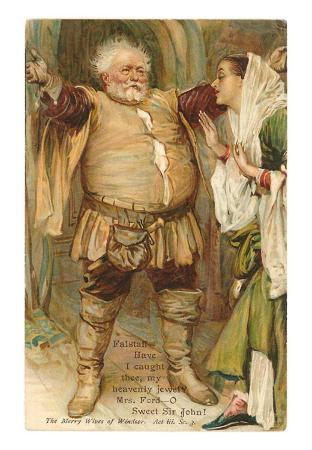 Falstaff from Merry Wives of Windsor