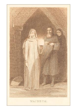 Scene from Macbeth