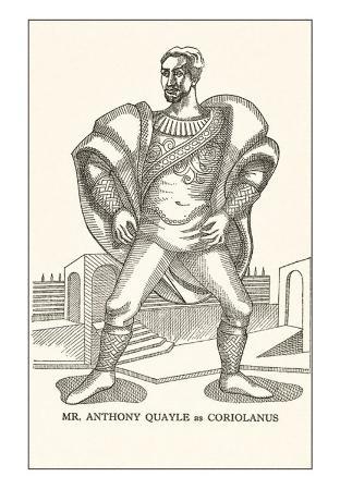 Anthony Quayle as Coriolanus
