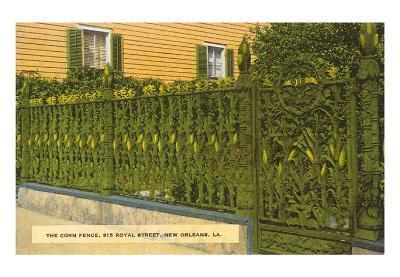 Corn Fence, New Orleans, Louisiana