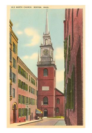 Old North Church, Boston, Massachusetts
