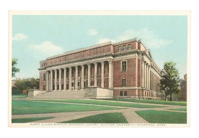 Library, Harvard, Cambridge, Massachusetts