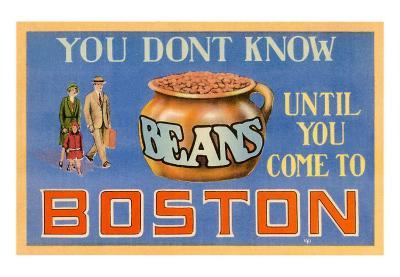 You Don't Know Beans, Boston, Massachusetts