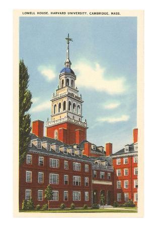 Lowell House, Harvard University, Cambridge, Massachusetts