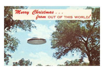Merry Christmas from out of this World, UFO