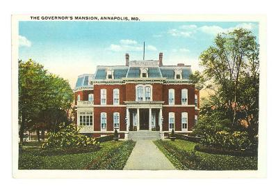 Governor's Mansion, Annapolis