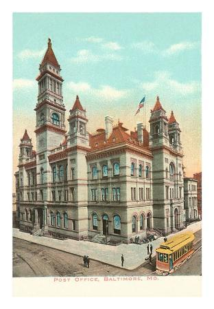Post Office, Baltimore, Maryland