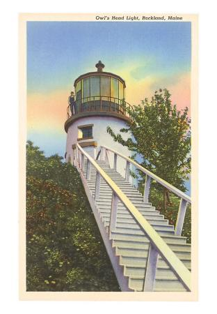 Owl's Head Lighthouse, Rockland, Maine