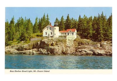 Bass Harbor Head Lighthouse, Mt. Desert Island, Maine