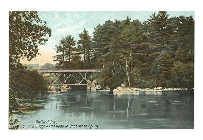 Smith's Bridge, Portland, Maine