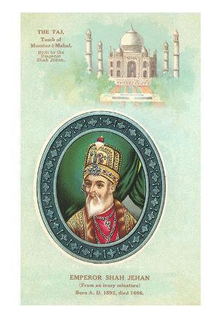 Shah Jehan and Taj Majal