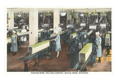 Kellogg Packing Room, Battle Creek, Michigan