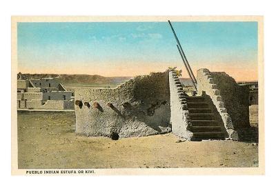 Pueblo Indian Kiva