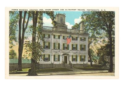 Pierce Mansion, Portsmouth, New Hampshire