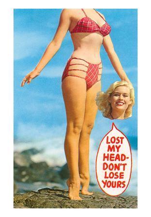Lost my Head, Girl in Bathing Suit