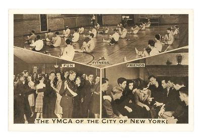 Scenes from the YMCA of New York City