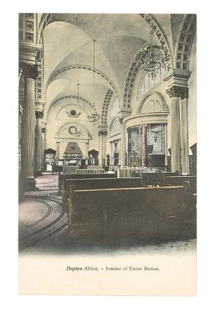Interior, Union Stateion, Dayton, Ohio