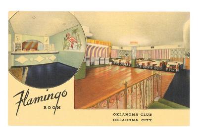 Flamingo Room, Oklahoma Club, Oklahoma City, Oklahoma