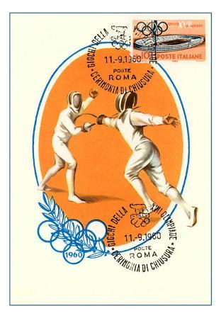 Olympic Fencing, 1960