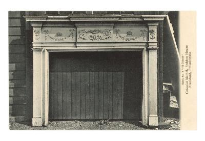 Colonial Mantel, Philadelphia, Pennsylvania