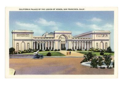 Palace of the Legion of Honor, San Francisco, California